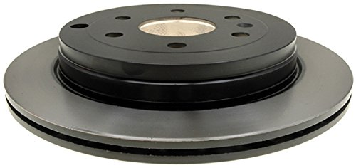 ACDelco Gold 18A2543 Black Hat Rear Disc Brake Rotor