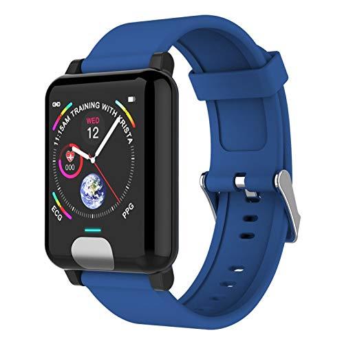 HX0945 Intelligente E04 druk voor mannen en vrouwen Heart Rate Monitor bloed Smart Armband Waterdicht Smartwatch Clock voor iOS mobiele telefoon Android