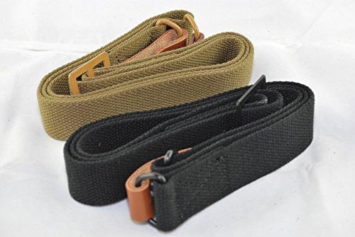 Tacbro - Ak/sks Sling (Heavy Duty), Medium, Black and Tan