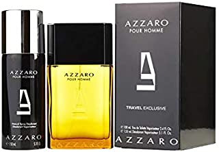 AZZARO Loris Perfume Gift Set For Men - Eau De Toilette, Perfume 100 ml + Spray Deodorant 150 ml