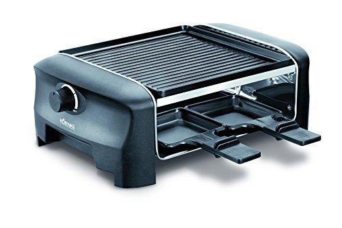 Koenig B02219E Raclette Gourmet 4 (600 Watt) schwarz