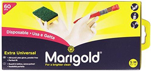 Marigold Handschoen Extra Safe Universeel S/M, 60 Stuk