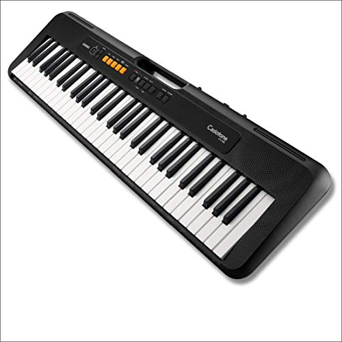 Casio - Musical Instruments Ct-S100C7 Tastiera di Pianoforte, Nero