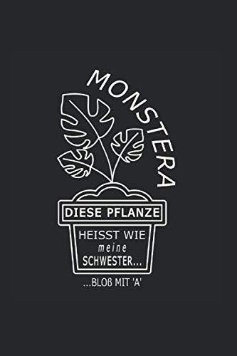 Monstera, diese Pflanze heisst wie meine...