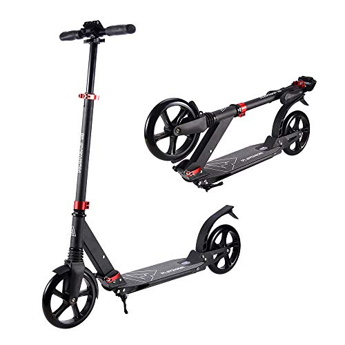 Big Wheels Kick Scooter for Adults
