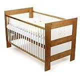Baby Vivo Kinderbett Juniorbett Babybett Massiv Holz Kiefer 140 x 70 cm -...