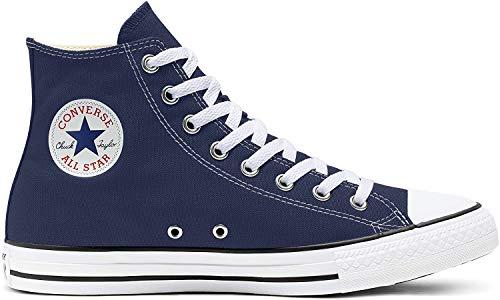 Converse Chuck Taylor All Star, Zapatillas altas Unisex adulto, Azul (Navy), 39
