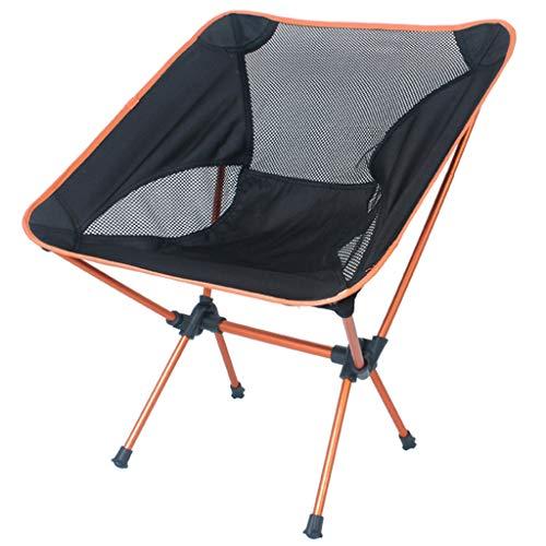 Xyf Silla Plegable Al Aire Libre Moon Chair Silla De Camping Portátil para Silla De Pesca Silla De Aleación De Aluminio 7075 Silla De Playa Silla De Dibujo Capacidad De Carga Máxima De 330 Libras