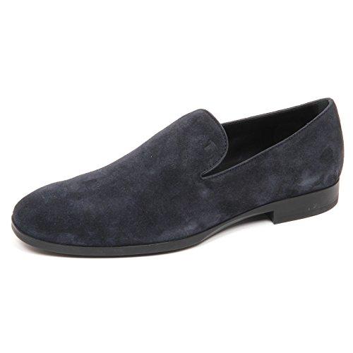 Tod's E2858 Mocassino Uomo Blu Scarpe Loafer Shoe Man [6]