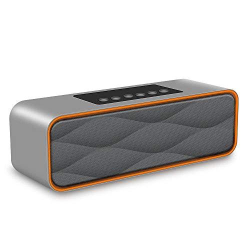 ZXZXZX S1 - Altavoz Inalambrica Bluetooth, Estereo, al Aire Libre, con HD Audio y Manos Libres, Bluetooth 4.0, Llamadas Manos Libres y TF Ranura de La Tarjeta