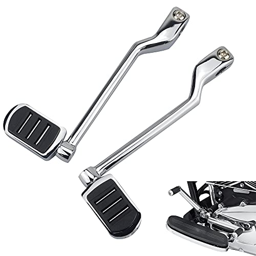 ONETK Heel/Toe Shift Pegs, Front and Rear Levers w/Shifter Pegs for Harley Davidson 1986-2017 FL Softail, 1988-2021 Touring Road King Road Glide Street Glide Electra Glide and 2008-later Trike Models