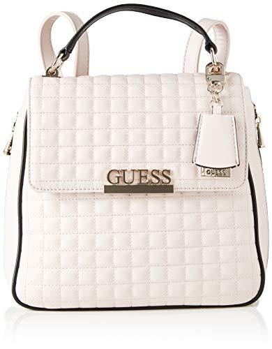 Guess Matrix Backpack, bolsos para Mujer, Stone Multi, Talla única