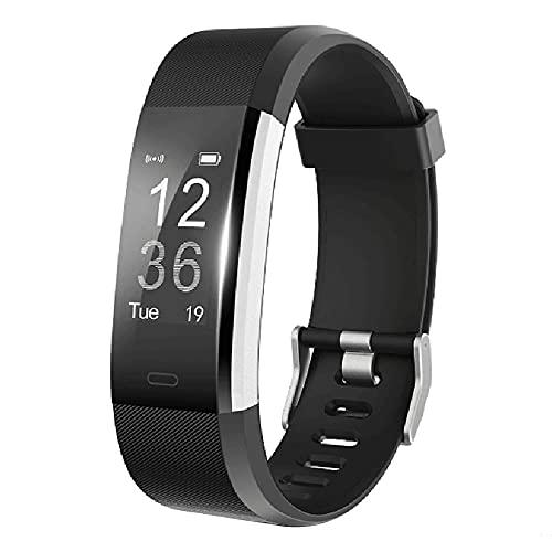Fitness rastreadores andthere actividad Tracker podómetro reloj inteligente con ritmo cardíaco monito para Android y iOS Smartphones Regalos para niños las mujeres y hombres