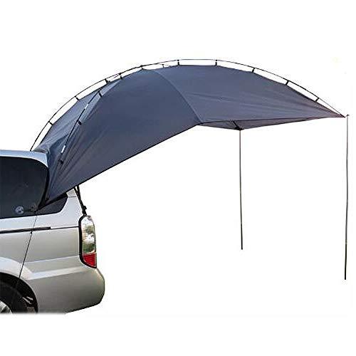 HUOFEIKE Auto-Markise Im Freien Sonnenschutz, Wasserdicht Canopy Camper Tailgate Markise Zelt Zeltwagen Dach Für SUV MPV Fließheck Minivan Camping,B1