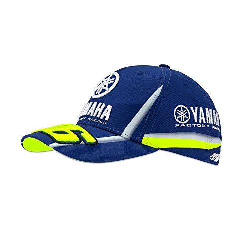 VR46 - Gorra para Adulto VR Yamaha, Talla única, Color Azul