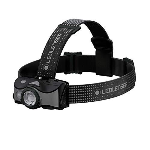Ledlenser MH7, leichte LED Stirnlampe, 600 Lumen, zusätzliche Rot-LED, inkl. Akku, als Handlampe nutzbar, auch mit Batterien nutzbar