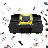 Best Card Shufflers - Washingtool Automatic Playing Card Shuffler Machine,Battery-Operated Electric Shuffler Review
