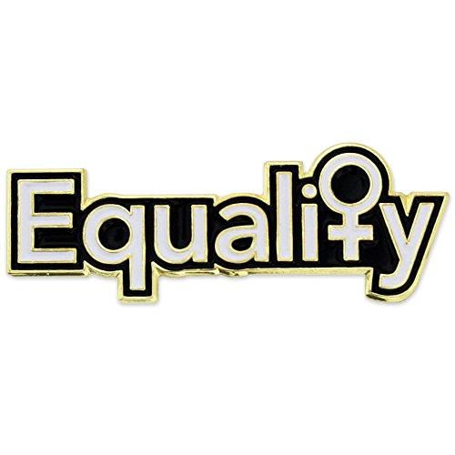 PinMart Women's Equality Venus Symbol Feminism Enamel Lapel Pin