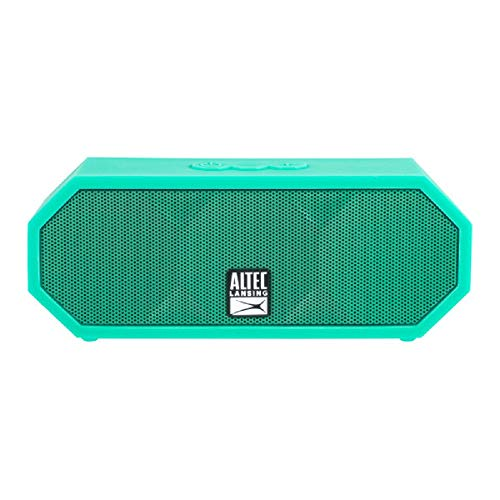 Altec Lansing IMW457-MT Jacket H2O 2 Bluetooth Speaker, IP67 Waterproof, Shockproof And Snowproof Rated And It Floats Rating, 8 Hours Of Battery, Ultra Portable, Compact Design, Mint