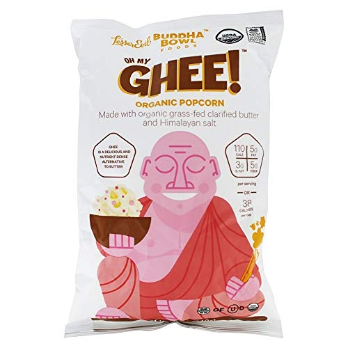 Lesser Evil - Buddha Bowl Organic Popcorn Oh My Ghee - 5 oz.