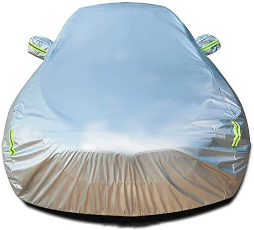 Zfggd Autoabdeckung Kompatibel mit for Toyota Hilux wasserdichtem Außen Auto-Abdeckungen Auto Cloth Autos Allwetter Sun UV Regen Schutz Auto-Schutz-Auto-Schutz-Breathable Staub Zurück