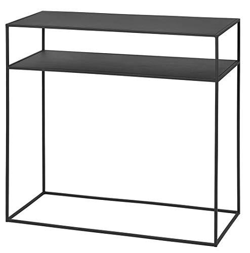 Blomus Fera Konsolentisch, schwarz BxHxT 85x80x35cm