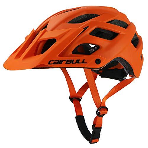 Cairbull 55-61 cm avec Pare-Soleil Casque Velo VTT Montagne Route Vélo Casque Ultralight Casque...