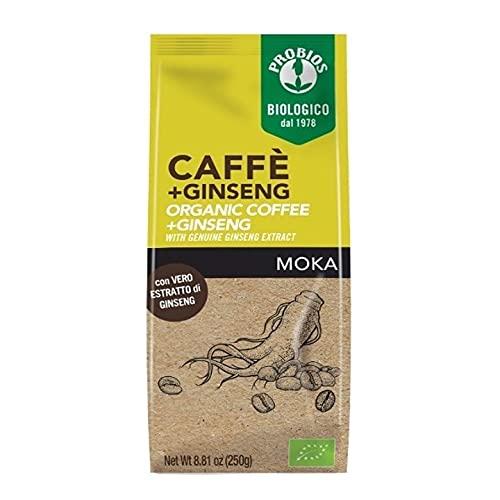 Probios Caffè Bio Con Ginseng - 250 g