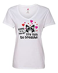 Valantines Day T-Shirt with Grumpy Cat