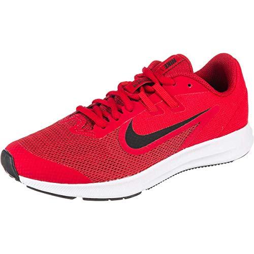 Nike Unisex Downshifter 9 Grade School Running Shoe Gym Red/Black-University Redwhite 5.5Y Regular US Big Kid