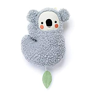 Baby Spieluhr Koala von Petiti Panda zum Aufhängen aus Baumwoll-Plüsch gefertigt