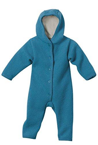 Disana 36102XX - Walk-Overall Wolle blau, Size / Größe:62/68 (3-6 Monate)