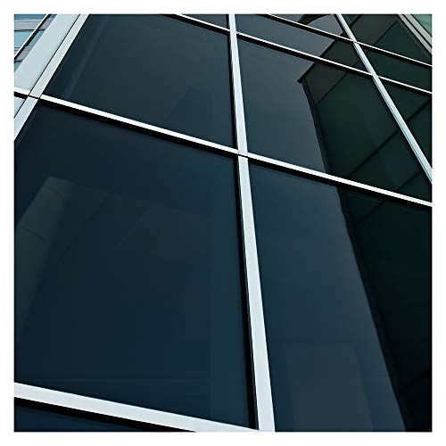 Buydecorativefilm BDF NA05 Window Film Privacy and Sun Control N05, Black (Very Dark) - 36in X 12ft