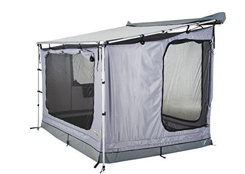 Zelt für Wohnmobil-Vordach (Nur 2.5m Wohnmobil-Vordach) TORA-TE25-D RV Shade Awning Tent 240x200cm Vorzelt für Wohnwagen 4 Personen Familienzelt, Campingzelt