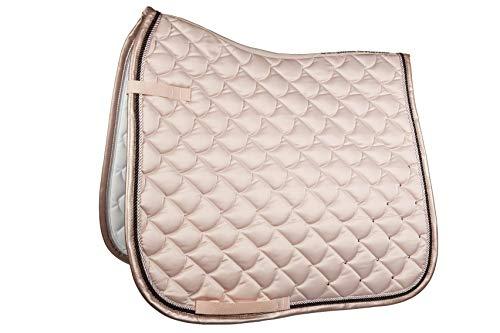 HKM SPORTS EQUIPMENT Cavallino Marino Schabracke -Copper Kiss-, rosa, Dressur