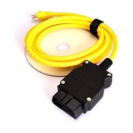 Nicecheck Enet Ethernet Rj45 Obd Obdii Für F Serie Mit Enet Software Esys Codierung Obdii Datenschnittstelle Auto