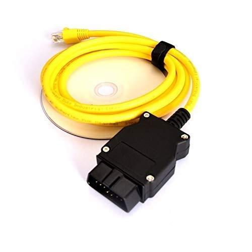 NiceCheck Enet Ethernet RJ45 OBD OBDII für F Serie mit ENET Software ESYS Codierung OBDII Datenschnittstelle