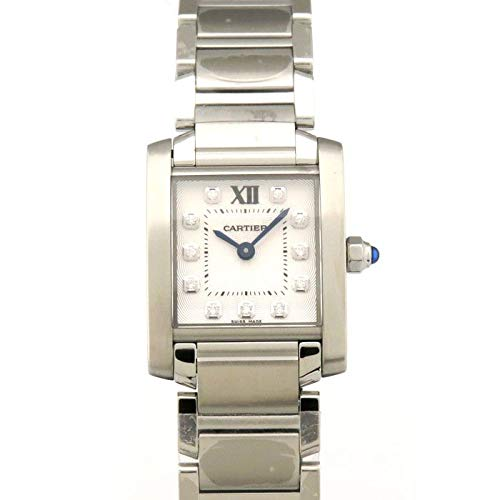 カルティエ Cartier タンク フランセーズ SM WE110006 シルバー文字盤 腕時計 レディース (W203801) [並行輸入品]