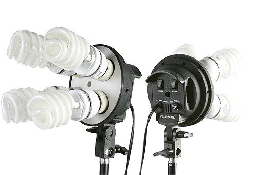 Fancierstudio Lighting Kit 2400 Watt Professional Video Lighting Kit with Three Softbox Lights, Boom Arm Hairlight Softbox, Lighting Kit for Studio Photography and Continuous Lighting (9004SB2)
