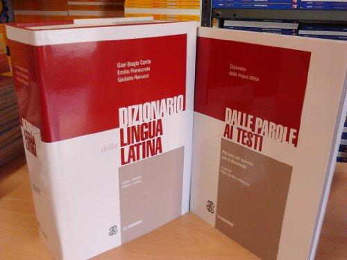 Il dizionario della lingua latina