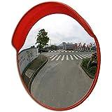 アウトドアトラフィック広角レンズ、道路の安全とショップのセキュリティのための凸型広角凸型安全性、キャップ凸型調整可能な固定観測45/60/80 / 100Cm、80cm