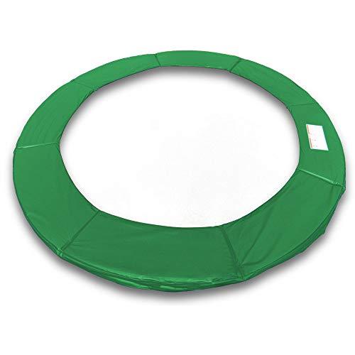 ms point Randpolsterung Gepolsterte Federabdeckung Rahmenpolsterung für 430cm Trampoline Breite 25cm Stärke 18mm in Dunkelgrün