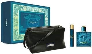 Versace Eros 100ml EDT + 10ml EDT + Bag (Pack of 3)