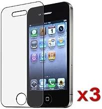 BlastCase 3 Pack iPhone 4 / 4S Anti-Glare, Anti-Scratch, Anti-Fingerprint - Matte Finishing Screen Protector