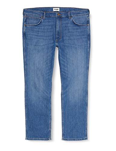 Wrangler Herren Greensboro Vantage Straight Jeans, Blau (Cool Sunrise 64J), 31W / 32L