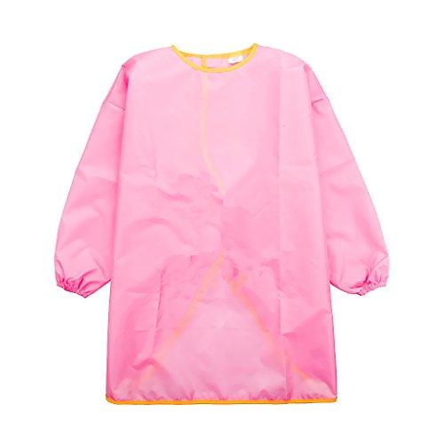 Baoblaze Malkittel für Kinder - Rosa, L