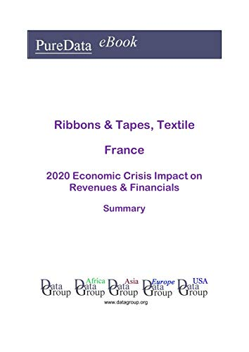 Ribbons & Tapes, Textile France Summary: 2020 Economic Crisis Impact on Revenues & Financials (English Edition)