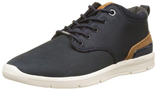 Pepe Jeans London Herren Jayden Cordura Hohe Sneaker, Blau (Marine), 45 EU