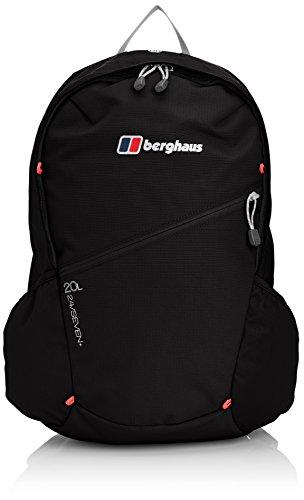 Berghaus Unisex-Adult Tagesrucksack Twnty4sevenplus Tagesrucksack, Schwarz, 20 Liter