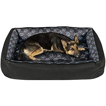 🐶 Bett für Hunde - großer Komfort für kleine und große Hunde. Wir stellen sicher, dass die Tierbetten beständig gegen Kratzer, Kauen und Feuchtigkeit sind. Es funktioniert perfekt zu Hause oder Outdoor. 🐶 Kuschelbetten aus flexiblen, bequemen und ang...